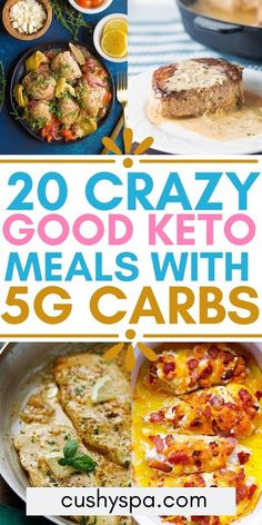 Delicious meals that are under carbs for your ketogenic diet. You'll love these keto meals for dinner while staying on track with your keto diet. These low carb meals will definitely make a low carb diet easy. Ketogenic Recipes, Diet Recipes, Healthy Recipes, Ketogenic Diet, Diet Meals, Low Fat Diets, Low Carb Diet, Keto Diet Breakfast, Breakfast Recipes