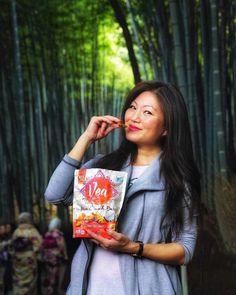 #ad Exploring Kyoto's wondrous Arashimaya Bamboo Forest  while enjoying my @veasnacks Mini Crunch Bars! Love these savory bites-to-go inspired by global flavors like tasty Thai Coconut! Véa snacks are made with real ingredients and no artificial flavors or colors and always non-GMO Project Verified. Savor the journey and #exploremore authentic tastes from around the world!