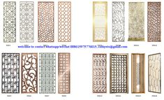 Modern Design Laser Cut Partition Screen Restaurant Wall Panel Screen Marble Screen - China Metal Screen and Room Divider price | Made-in-China.com Folding Partition, Folding Screen Room Divider, Partition Screen, Room Divider Walls, Room Screen, Stainless Steel Sheet Metal, Stainless Steel Screen, Gate Designs Modern, Modern Design