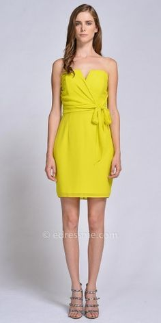 Leah Wrap Dress by EDM Private Collection #edressme