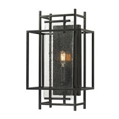 Oil Rubbed Bronze Intersections Collection 1-Light sconce - 17086977 - Overstock.com Shopping - Top Rated ELK LIGHTING Sconces & Vanities