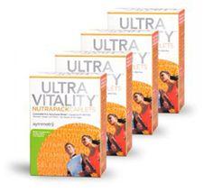 Symmetry Ultra Vitality NutraPack Multivitamin Supplement Four Packs #SymmetryGlobal