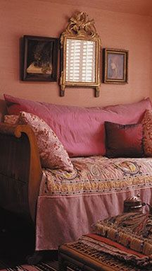 ♜ Shabby Castle Chic ♜ rich and gorgeous home decor - a little corner to call one's own
