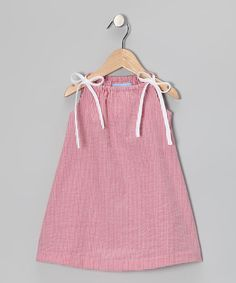 Red Gingham Swing Dress on #zulily today!