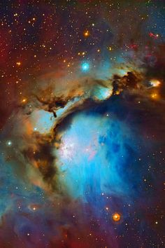 M78 is the brightest diffuse reflection nebula of a group of nebulae that include NGC 2064, NGC 2067 and NGC 2071