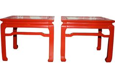 Red Ming Tables