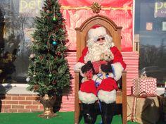 Annual Santa event.  #naturallylocal