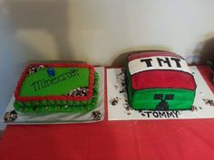 Birthday Cake  #minecraft #tnt