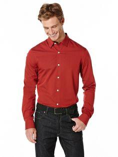 Slim Fit Diamond Dobby Shirt from Perry Ellis on Catalog Spree, my personal digital mall.