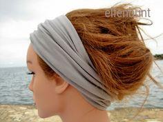 "Haarband ""Rock"", Wickelhaarband, Stirnband, Loop von  Maria Elfenbunt auf DaWanda.com"
