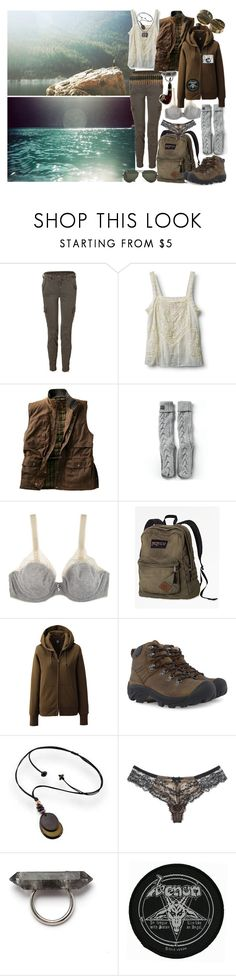 """CALM DOWN"" by whiskeyandhash ❤ liked on Polyvore featuring Orca, J Brand, Quiksilver, Superdry, Huit, Levi's, Uniqlo, Keen Footwear, Ray-Ban and Myla"
