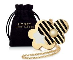 Buy Marc Jacobs Honey Solid Perfume Limited Edition Necklace from our Women's Fragrance range at John Lewis & Partners. Marc Jacobs Daisy, Marc Jacobs Honey, Perfume Gift Sets, Perfume Oils, Perfume Bottles, Black Perfume, Solid Perfume, Sephora, Dolce And Gabbana Perfume
