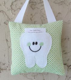 Tooth Fairy Pillow Ready to Ship by Mimisartistree on Etsy, $8.00