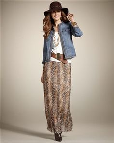 Dresses & Skirts for Women - Maxi, Pencil, Wrap & More - Chico's. Love this casual look.