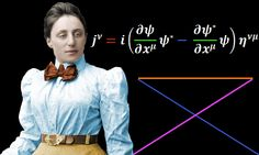 Emmy Noether is probably the greatest female mathematician who ever lived.