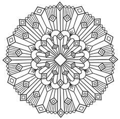 Mandala 666, Mandalas Coloring Book, Dover Publications