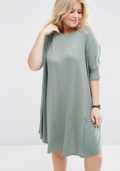 Pin for Later: 40 Alternatives to Pajamas Perfect For Working From Home  ASOS T-Shirt Dress ($36)
