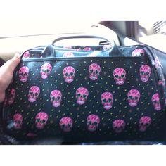 Sugar skulls bag:)