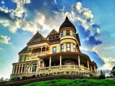 Queen Anne Mansion in Eureka Springs, Arkansas