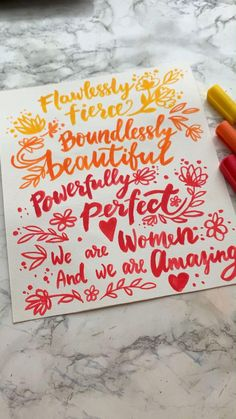 Paper Lettering is a charming hobby. It is worth mastering the paper painting ideas - and you can paint mugs, make cards, posters with your favorite phrases, T-shirts with quotes, and other magical things.