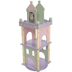 Time To Read Girl's Revolving Bookcase | Overstock.com Shopping - Great Deals on Levels of Discovery Kids' Storage
