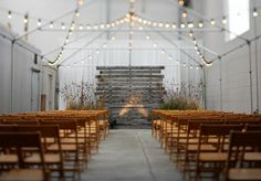 ceremony back drop | ceremony backdrop of weathered wood and meadow grasses