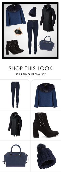 """'' Winter Elegance ''"" by pepo-beckham ❤ liked on Polyvore featuring Sonia Rykiel, SOREL, Michael Kors and Miss Selfridge"