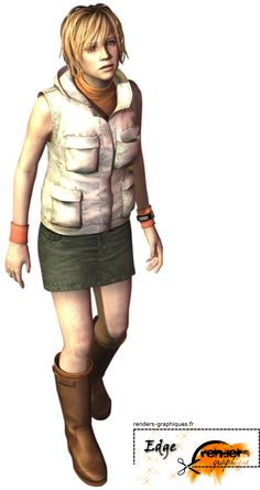 Heather Mason, she's in the best Silent Hill game in existence.
