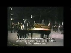 Mozart. Concierto para piano no. 21 en do (K. 467).   WOLFGANG AMADEUS MOZART (1756-1791).  Periodo clásico.    Concierto para piano no. 21 en do (K. 467).    Video 3 de 3:  III. Allegro vivace assai.    Solista:  Sergio Alejandro Matos (México).    Director:  Luis Ximénez Caballero (Xalapa, Veracruz, México. 1928-2007).    Camerata Sociedad Cooperativa, S.C.L.  Orquesta Sinfónica del Noroeste (OSNO).    Teatro Degollado.  Guadalajara, Jalisco, México.    10 de octubre de 1981.