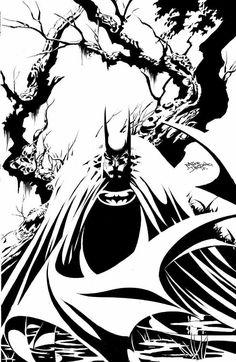 Batman by Mike Deodato Jr.
