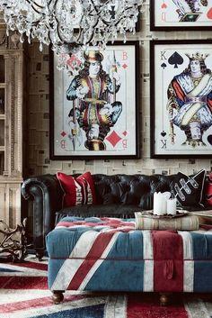 Sofiaz Choice | Union Jack decor - I love the cards!