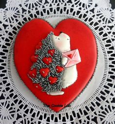Be my Valentne! By The Cookie Lab - Bolachas decoradas arte https://www.facebook.com/pages/The-Cookie-Lab-Bolachas-Decoradas-