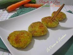 Polpette di Pane Zucchine e Carote - Un'altra deliziosa ricetta per utilizzare il pane di ieri