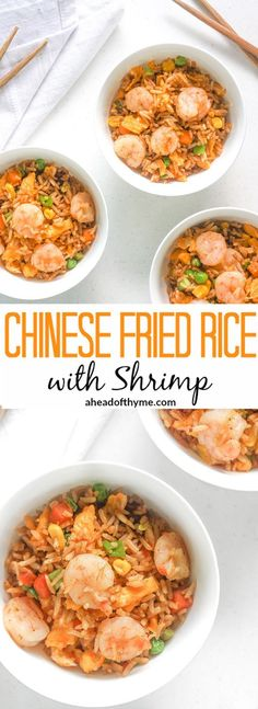 Fried rice recipe cooking tips pinterest rice recipes tofu chinese fried rice with shrimp make your own chinese fried rice with shrimp in ccuart Image collections