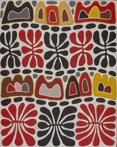 Mitjili Napurrula ~ Watiya Tjuta Irantji (Dreaming with Clouds) Aboriginal Artists, Artwork Images, Australian Art, Indigenous Art, Copics, Dot Painting, Art Plastique, Ancient Art, African Art