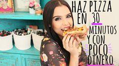 PREPARA UNA PIZZA EN 30 MINUTOS ♥ - Yuya