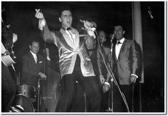 Songs performed by Elvis during this concert: 01. Heartbreak Hotel 02. All Shook Up 03. A Fool Such As I 04. I Got A Woman 05. Love Me 06. Such A Night 07. Reconsider Baby 08. I Need Your Love Tonight 09. That's Allright 10. Don't Be Cruel 11. One Night 12. Are You Lonesome Tonight? 13. It's Now Or Never 14. Swing Low, Sweet Chariot 15. Hound Dog  A tape recording of this show was released by RCA in 1980 on the box-set 'Elvis Aron Presley'.