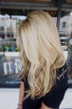 www.kimjette.com Blonde #balayage