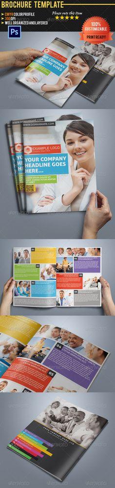 Multipurpose Bi-Fold Business Brochure Vol.2 - Corporate Brochures