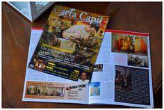 Anúncio de rodapé feito para Livraria do Trem, São Leopoldo (abril de 2009), veiculado na revista Carta Capilé, edição nº 39.