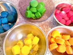 Image result for bright colorful cupcakes