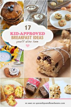 17 Kid Approved Breakfast Ideas You'll Also Love - Spaceships and Laser Beams Christmas Breakfast, Breakfast For Kids, Breakfast Ideas, Breakfast Dishes, Breakfast Cake, Sweet Breakfast, Health Breakfast, Latte, Baby Food Recipes