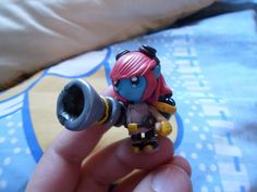 League of Legends  Tristana necklace by elrincondereiko on Etsy, €20.00