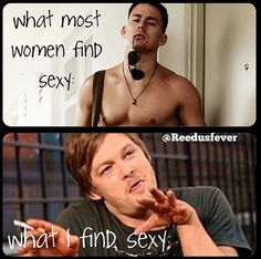 In general, not just with Norman Reedus