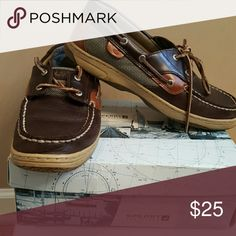 Sperry's Brown on Brown sperry's (boys) Sperry Top-Sider Shoes