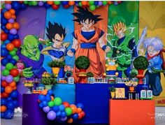 Goku Birthday, Dragon Birthday, Dbz, Baby Corsage, Digger Party, Twin First Birthday, Ball Birthday Parties, Amazing Ideas, Blog