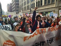 Adjunct Faculty Around the Country Join Fight for 15 Protests - Working In These Times