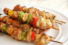 5 {Tried & True} Pinterest Recipes  Honey Chicken Kabobs