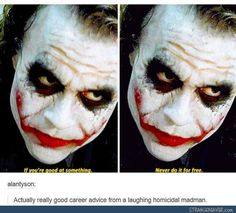 1001 Movie Quotes - The Best Movie Quotes. We speak Movie Quotes Ft Tumblr, Tumblr Posts, Tumblr Funny, O Joker, Joker And Harley, Harley Quinn, Movie Quotes, Funny Quotes, Funny Memes