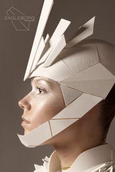 3ders.org - Monika Vaverová's 3D printed Monika Vaverová's 3D printed Eagle Borg superhero outfit is a sci-fi dream | 3D Printer News & 3D Printing News